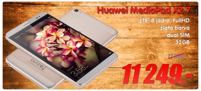 Huawei MediaPad X2 7 LTE zlata 32GB