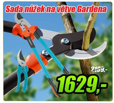 Nůžky na větve Gardena 780 BL + zahradní nůžky Gardena 646-20
