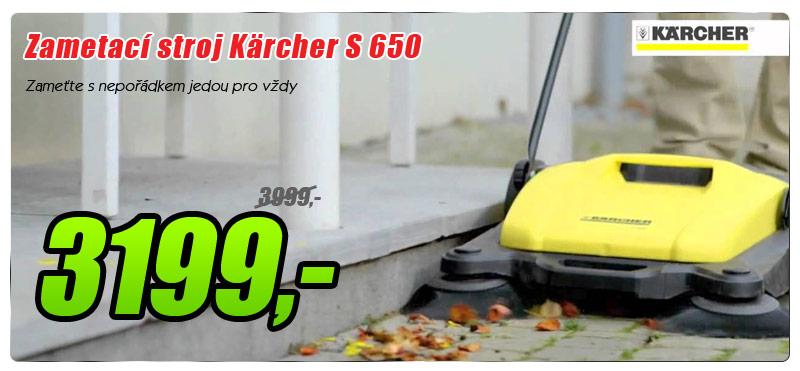 Zametací stroj Kärcher S 650